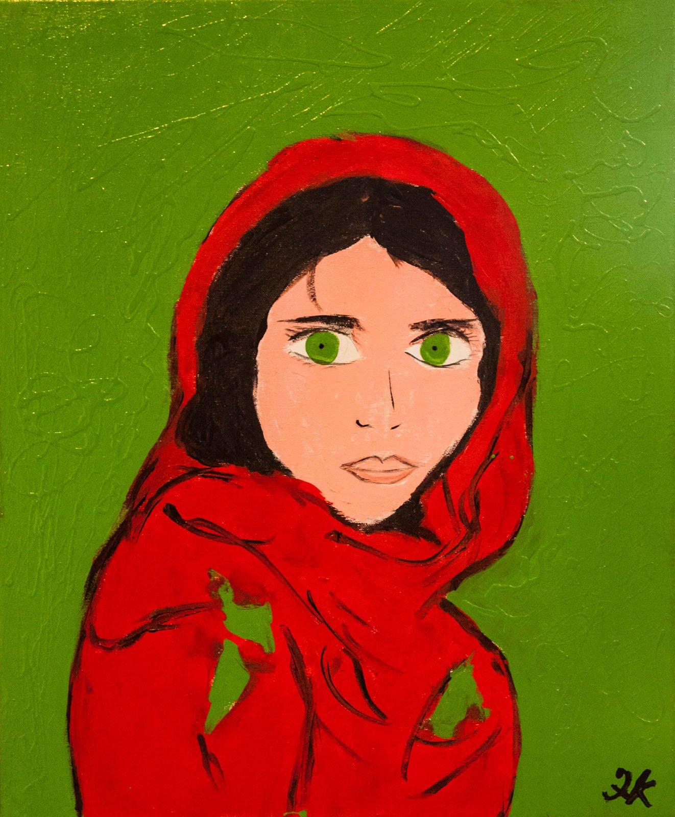 ragazza afgana